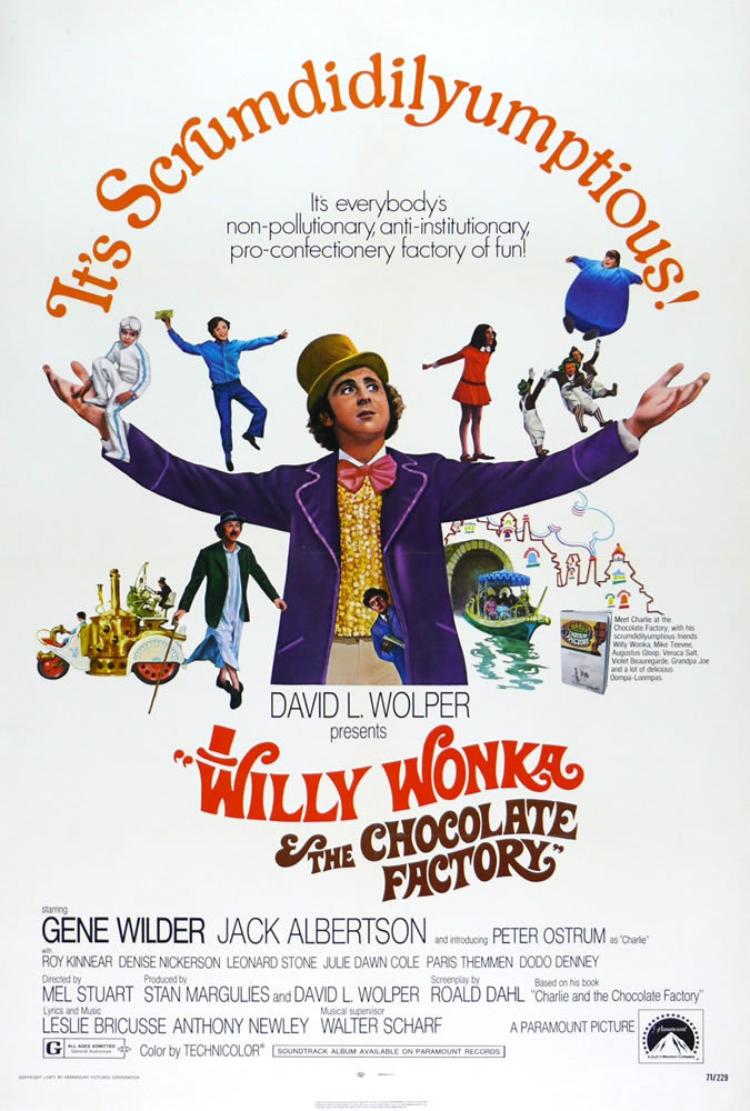 Free Family Film Fest – Willy Wonka and the Chocolate Factory