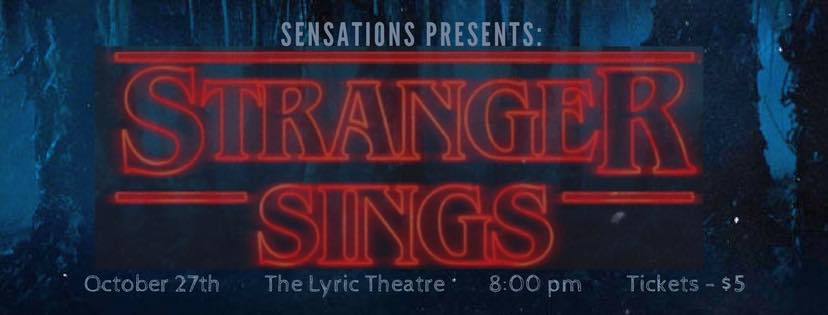 "Sensations presents ""Stranger Sings"""