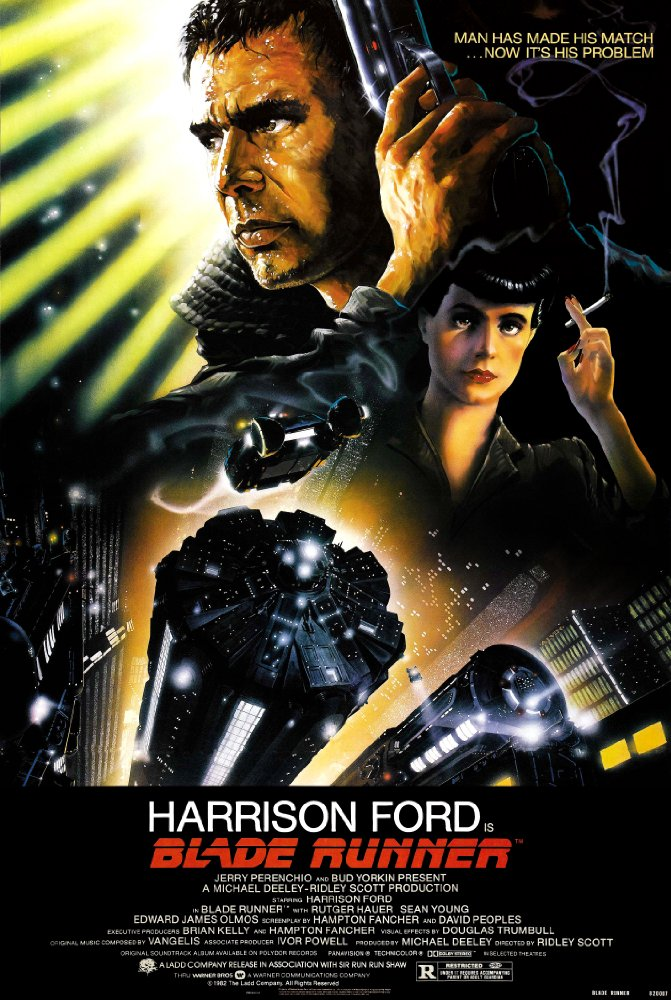 """Blade Runner"" (1982) sponsored by Virginia Tech Department of English"